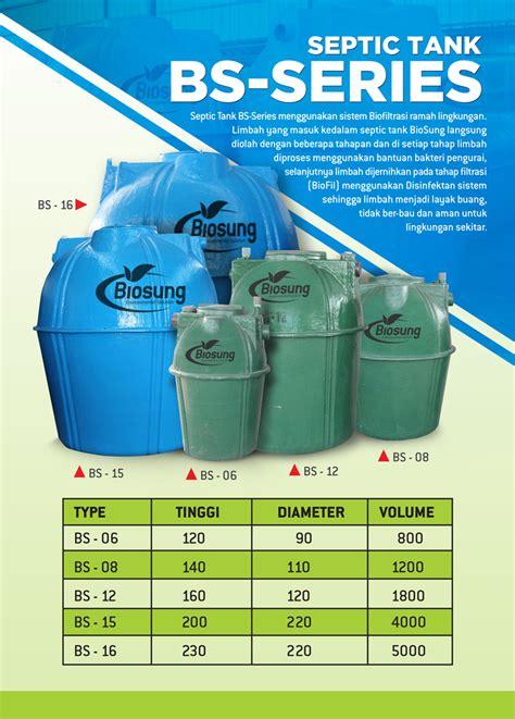 Septic Tank Biotech harga septictank biotech murah pt biosung fibertek