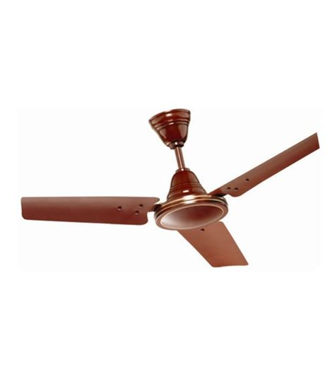Ceiling Price Exle by Rallison 48 Excel Ceiling Fan Brown Price In India Buy