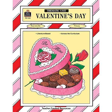when was valentines day invented valentines day thematic unit tcr0260 created