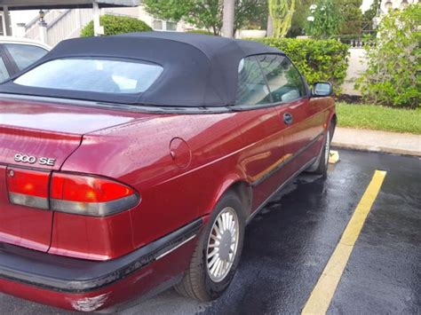 saab convertible red saab 900 se convertible car 1995 red for sale saab