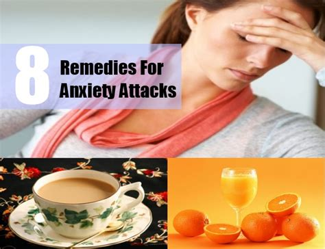 8 home remedies for anxiety attacks treatments