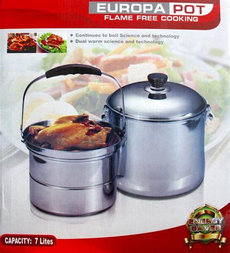 Panci Europa Pot europa pot free cooking panci set memasak cepat matang