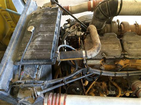 peterbilt    cat engine fan clutch