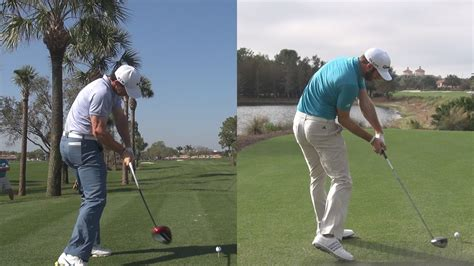 rory mcilroy driver swing rory mcilroy vs dustin johnson extreme driver power