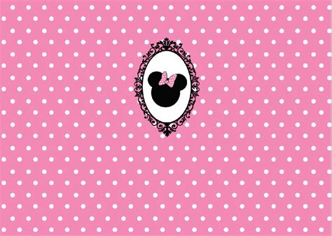 pink polka dot with frame background labs 5x7ft white pink polka dots pattern minnie bow baby shower