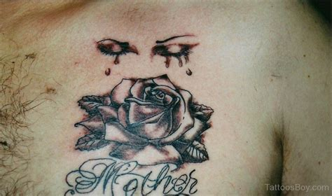 crying rose tattoo eye tattoos designs pictures page 6