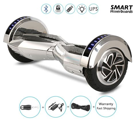 hoverboard with speakers and lights bugatti performance hoverboard with bluetooth speaker and