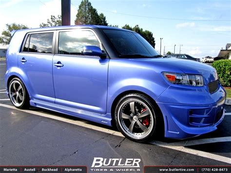 scion xb 18 wheels scion xb with 18in tsw wheels exclusively from