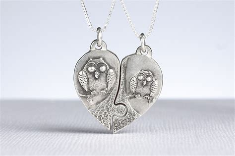 where to buy pieces to make jewelry buy a crafted owl puzzle necklace made