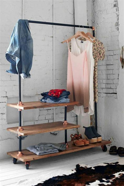 kleiderständer selber bauen ankleidezimmer selber bauen bastelideen anleitung und