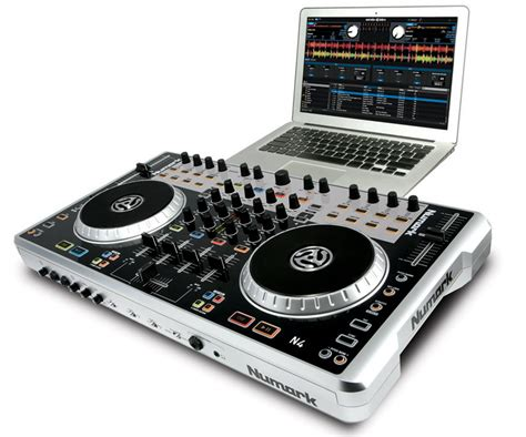 come usare console dj numark n4 dj controller mixer a 4 canali ziomusic it