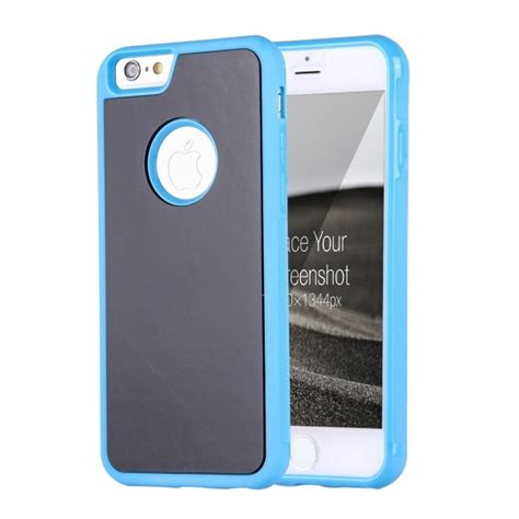 Anti Gravity Iphone 7 Blue for iphone 6 6s anti gravity magical nano suction technology sticky selfie protective