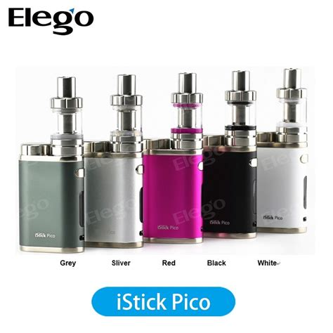 Tank Glasses For Eleaf Pico Limited china 2016 selling ismoka eleaf istick pico kit with melo iii mini 2ml atoimzer mini