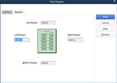 landscape orientation quickbooks how to work with the quickbooks report window buttons