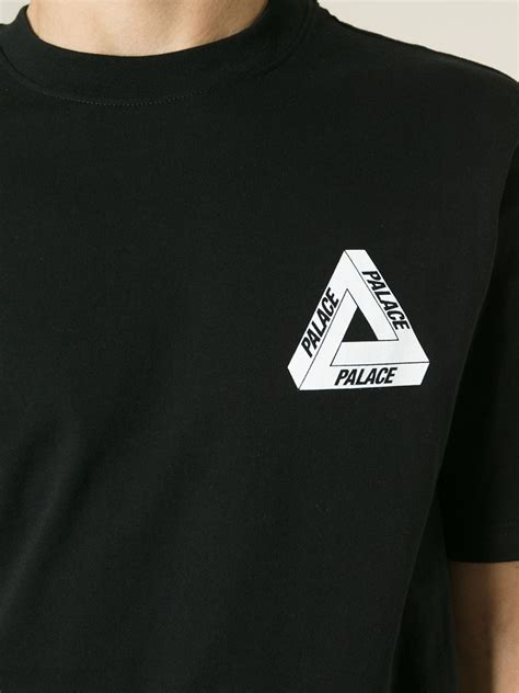 Logo T Shirt lyst palace logo t shirt in black for