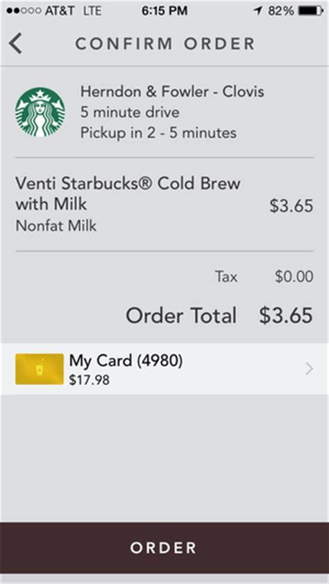 Starbucks S Ios App Now Lets You Order Ahead And Skip The Line Macworld Starbucks Receipt Template