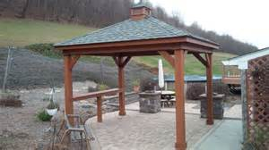 Hip Roof Pergola by Wood Gazebos Pennsylvania Maryland And West Virginia