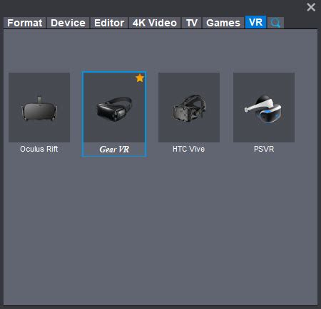 Format Video Gear Vr | tips making avi files work on samsung gear vr
