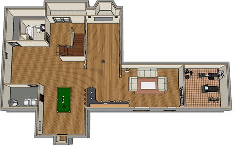 basement planning finished basement apartment design home renovation team