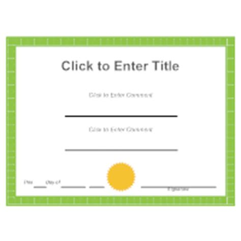 Smartdraw Certificate Templates by Certificates Tips For Creating Custom Certificates