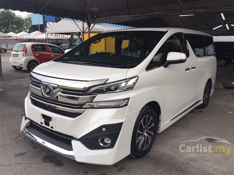 Toyota Dealer Ta Toyota Vellfire 2016 Executive Lounge 3 5 In Selangor