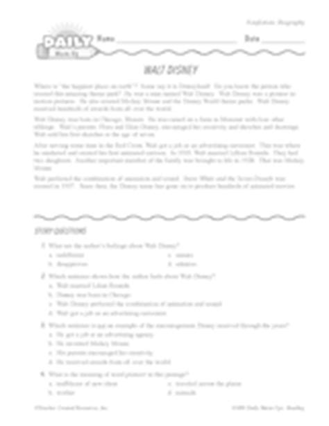 walt disney biography lesson plan inventions lesson plans printables activities