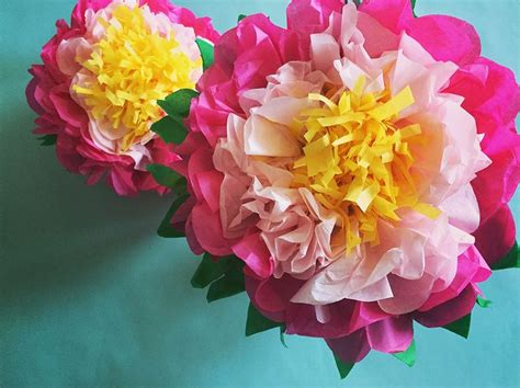 How To Make A Mexican Paper Flower - 25 best ideas about mexican paper flowers on
