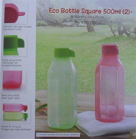 Tupperware Summer Promo Murah eco bottle square 500 ml 2 tupperware katalog promo murah wishlist for kitchen