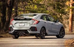 Honda Hatchback 2017 Honda Civic Hatchback Sport Test Motor Trend