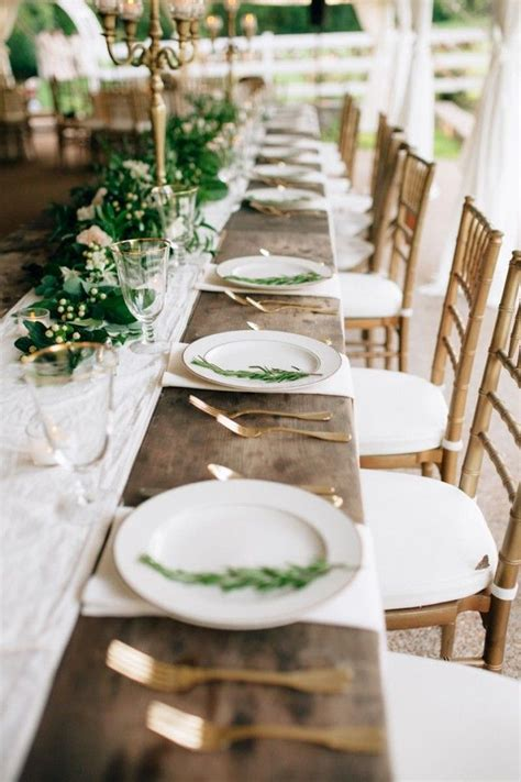 Table Settings For Weddings 25 Best Ideas About Wedding Table Settings On Pinterest Table Settings Outdoor Table