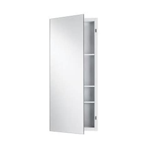 nutone medicine cabinets home depot focus 16 in w x 36 in h x 4 5 in d recessed medicine