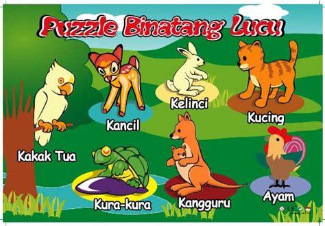 Mainan Anak Seri Hewan Serangga Dan Hewan Melata puzzle stiker seri binatang lucu mainan kayu
