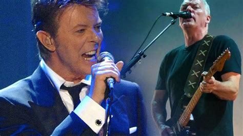 comfortably numb bowie pink floyd s david gilmour unites with rock legend david