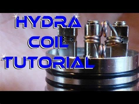 vape tutorial youtube hydra coil build tutorial how to youtube vape