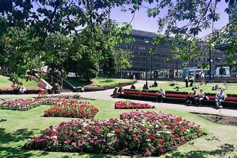 Manchester Gardens by The Of Manchester S Piccadilly Gardens Remembered