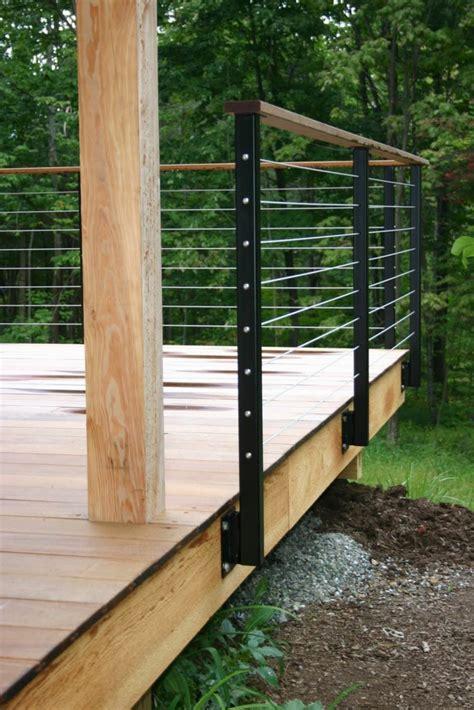 Terrasse Zaun Modern by Edelstahl Zaun F 252 R Eine Schicke Au 223 Engestaltung