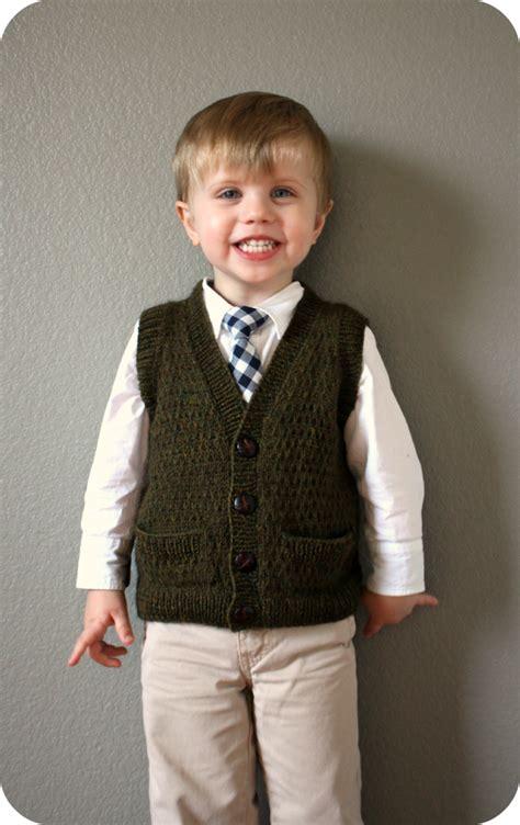 knitting pattern for boys vest tycoon vest never not knitting bloglovin