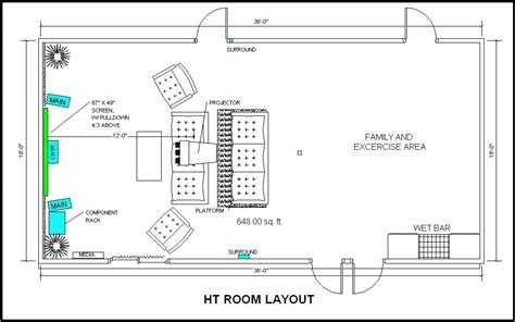 home theater layout diagram home uncategorized free