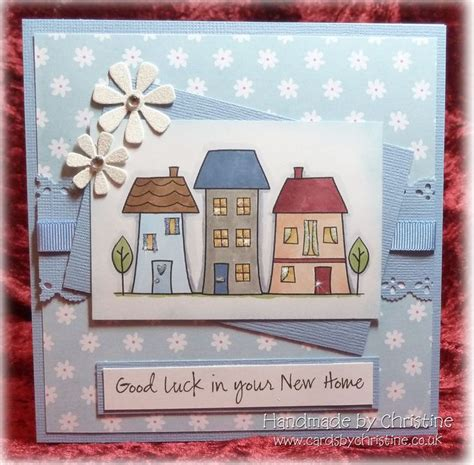 Handmade New Home Card Ideas - 17 best images about new home card ideas on