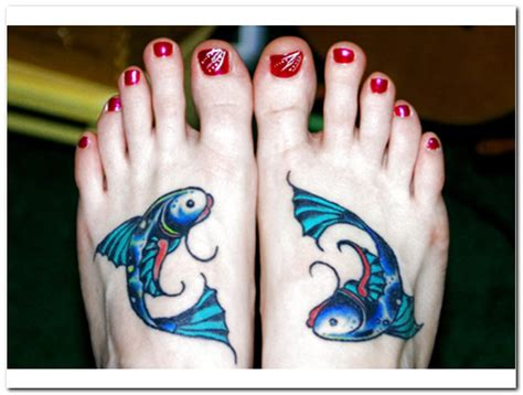 pisces sign tattoos designs the popular of tatto pisces tattoos designs