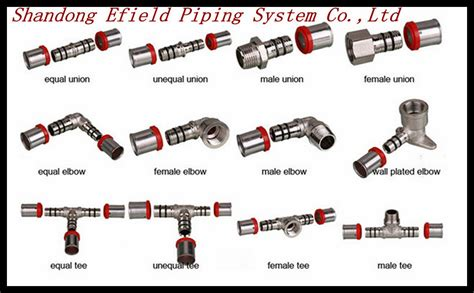 What Type Of Plumbing Do I by Different Types Pipe Brass Fittings For Pex Pipe Pex Al