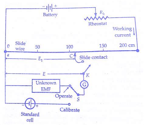 potentiometer diagram wiring precision dc circuits