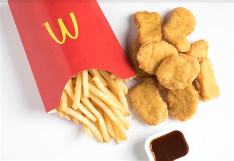 Mac Chicken Mcd who has the healthier chicken nuggets fil a versus