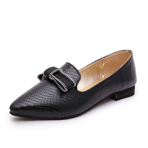 kilimall flat shoes with bowknot design pointy