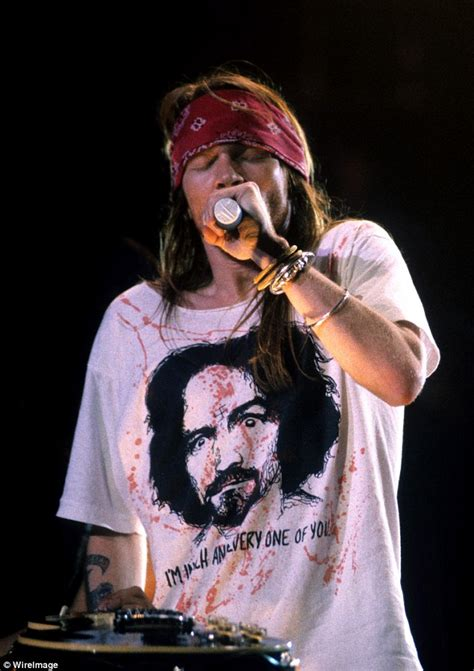 Channeling Axl by Jodhi Meares Channels Axl Wearing His Signature