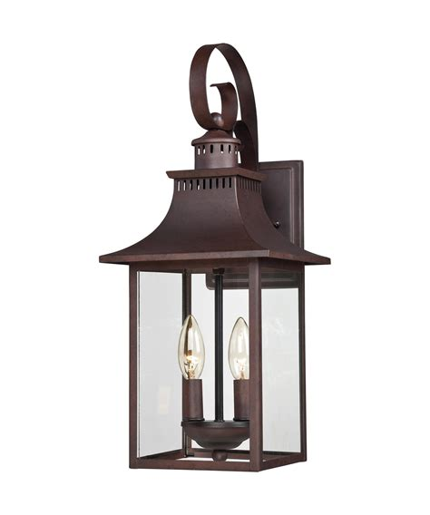Quoizel Outdoor Lighting Quoizel Ccr8408 Chancellor 2 Light Outdoor Wall Light