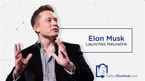 elon musk philanthropy elon musk launches neuralink followelonmusk com