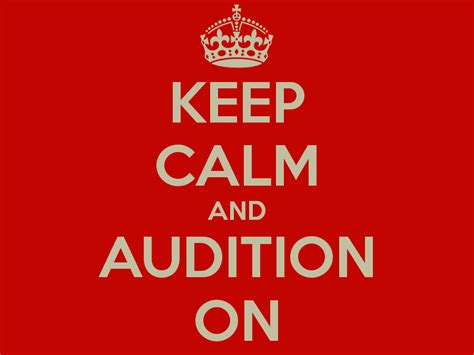 I D Audition by 4 Things To Bring To Your Audition That You Might Forget