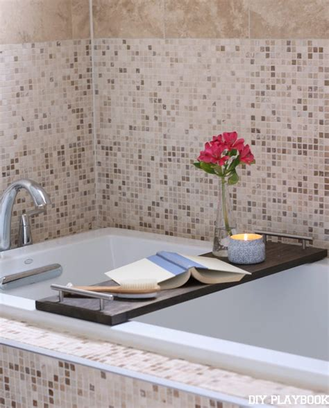 How To Make Your Own Diy Bathtub Tray For Your Bathroom