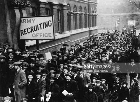 Recruiting Offices by An Introduction To The Topical Press Collection Getty Images